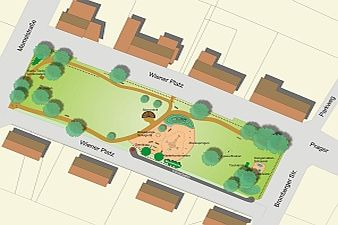 Stadt Walsrode - Gestaltungskonzept Wiener Platz