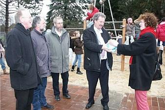 Amandus-Abendroth-Gymnasium Cuxhaven - Open space zur Schulhofgestaltung